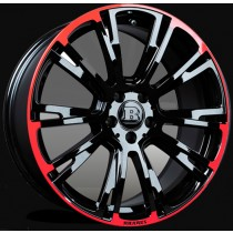 "Brabus Felga Monoblock R Red/Black 19"" S Coupe"
